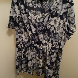 Lane Bryant Bryant floral top